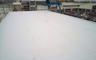 Roof Replacement, Fosse Shopping Park Leicester