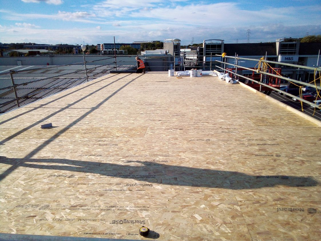Roof Replacement at Fosse Shopping Park, Leicester by Tunbridge Wells Roofing