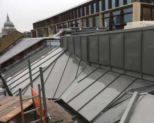 lead & zinc roofing contractors tunbridge wells