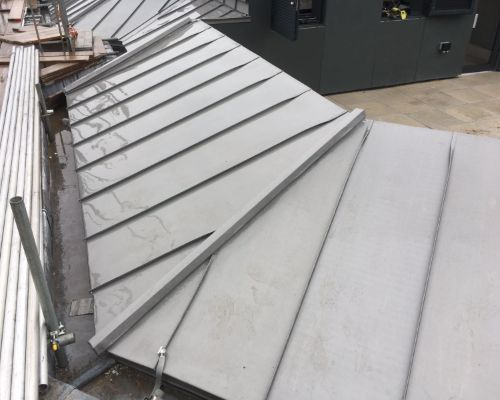 GRP Flat Roofing Cannon Street, London by Tunbridge Wells Roofing