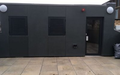 GRP Flat Roofing, Cannon Street, London