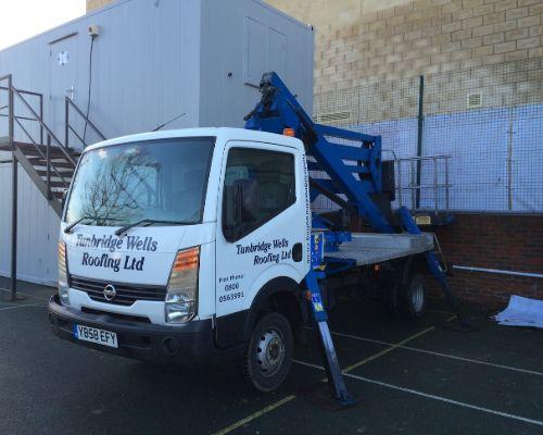 specialist equipment cherry picker tunbridge wells roofing