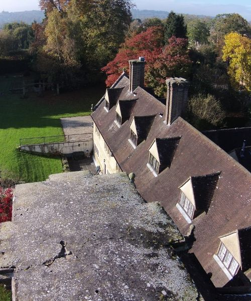 specialist equipment drone footage tunbridge wells roofing